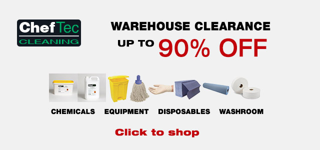 Warehouse clearance, up to 90% off