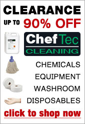Cheftec cleaning clearance