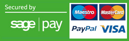 Payment Secured By Sagepay