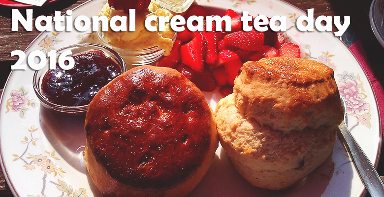National Cream tea day 2016