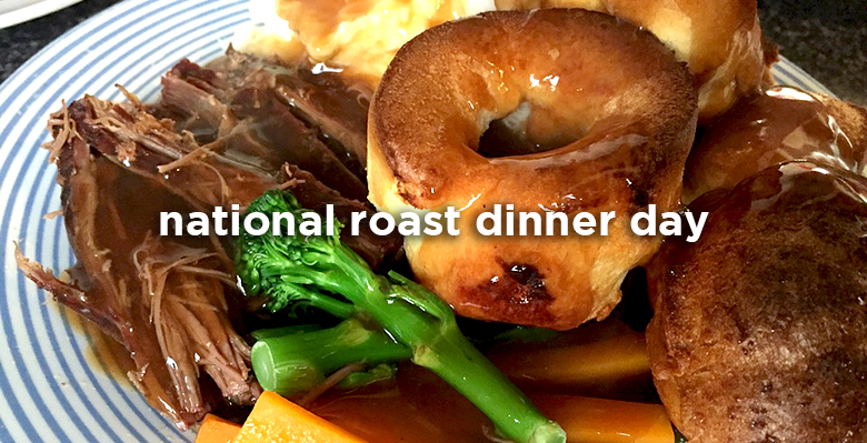 National Roast Dinner Day host the roast