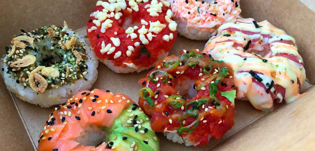 Sushi Doughnuts CS Catering Blog Poke Burri