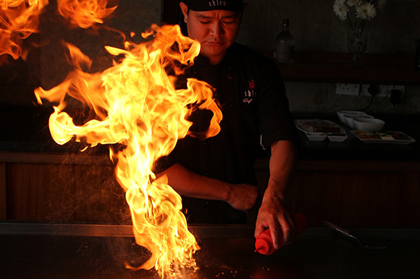 Teppanyaki Cooking CS Catering Blog