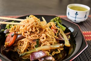 Yakisoba Noodles Fried Noodles