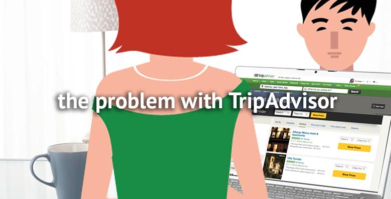the problem with tripadvisor