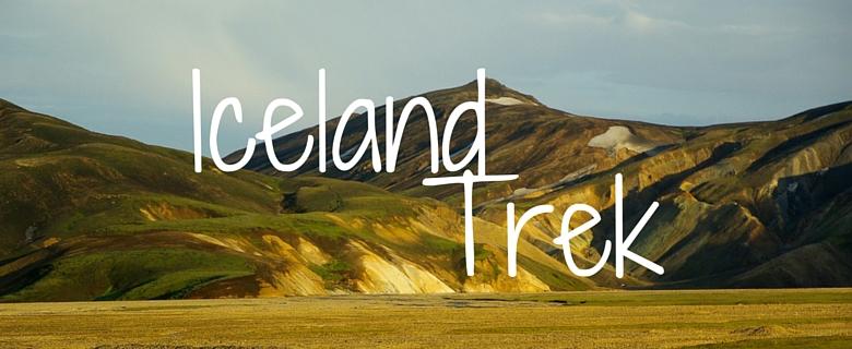 Iceland Charity Trek header