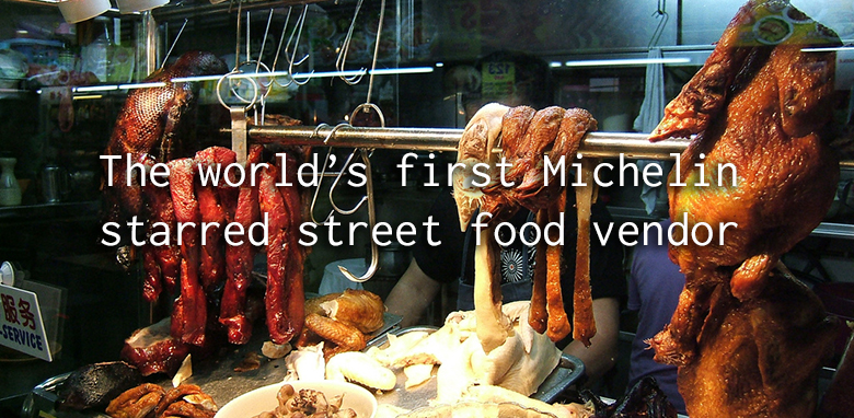 worlds first michelin starred street food vendor