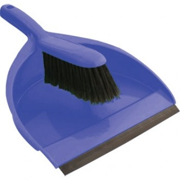 Colour Coded Dustpan And Brush