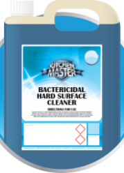 Kitchen Master Bactericidal Hard Surface Cleaner (601) - 4 x 5L
