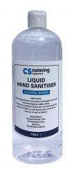 1L Liquid Hand Sanitiser - 70% Alcohol Antibacterial