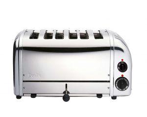 Dualit 61019 6 Slot Bun Toaster - Polished