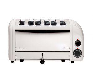 Dualit 60146 6 Slot Vario White Toaster