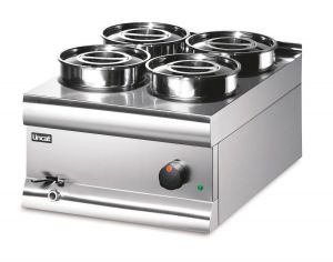 Lincat BS4W Round Pot Wet Heat Bain Marie