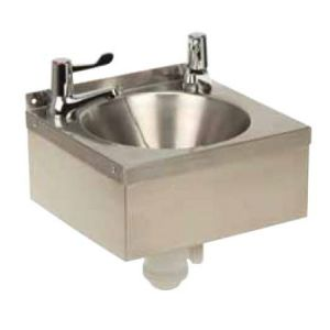 Cheftec CFT1170003 Stainless Steel Hand Wash Basin with Lever Action Taps