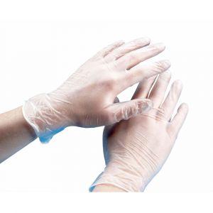 Vinyl Powder Free Gloves - Large